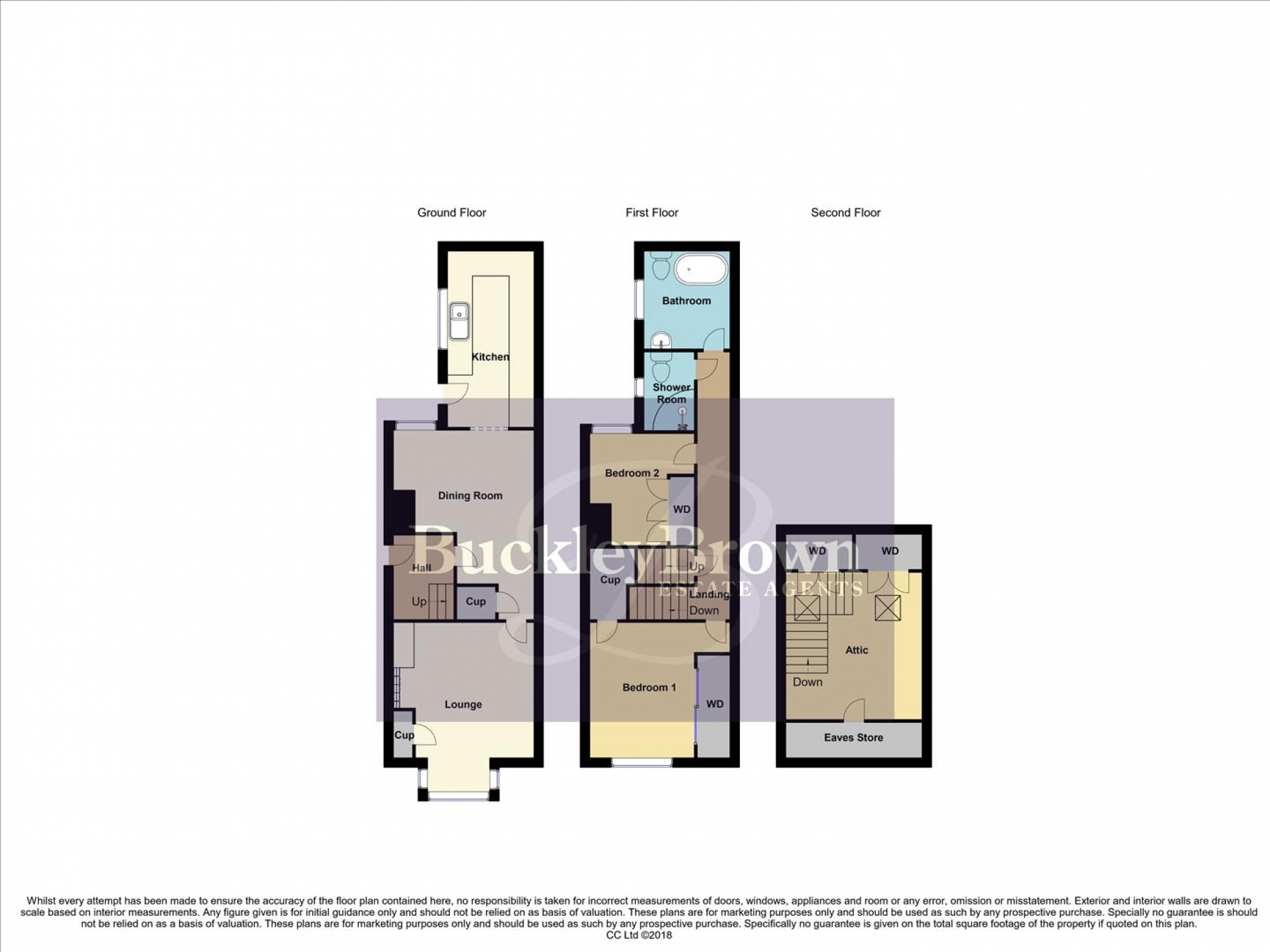 Floorplan for Edward Avenue, Sutton-In-Ashfield