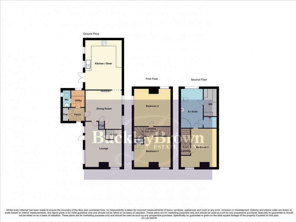 Floorplan for Carr Lane, Warsop