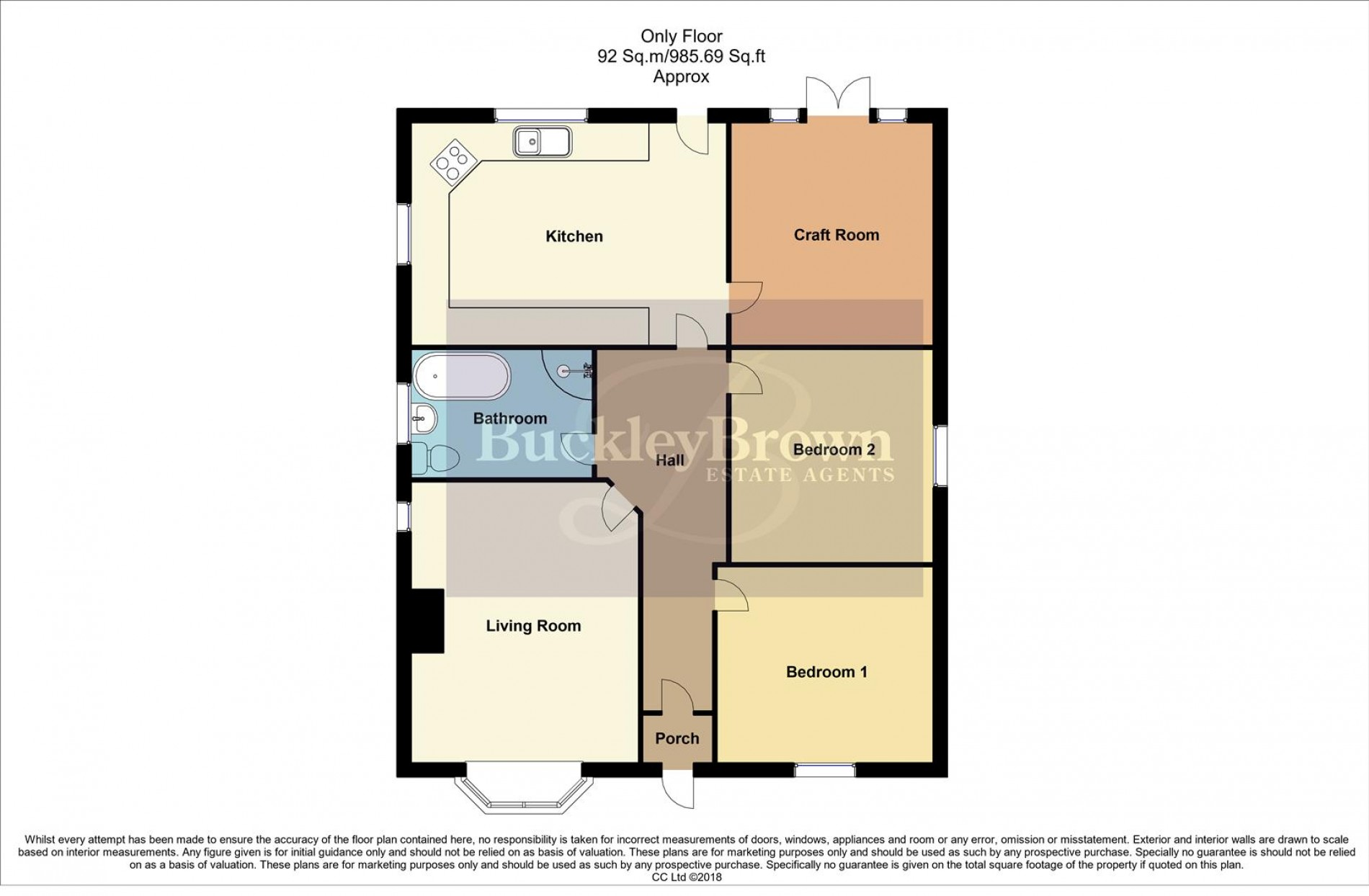 Floorplan for Leeming Lane North, Mansfield