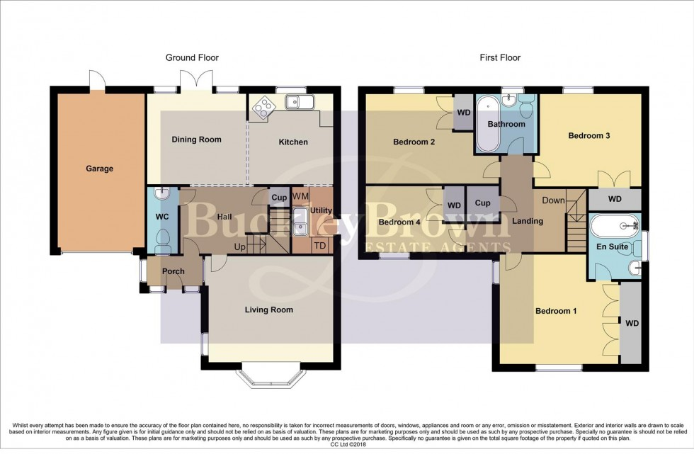 Floorplan for Bryony Way, Mansfield Woodhouse