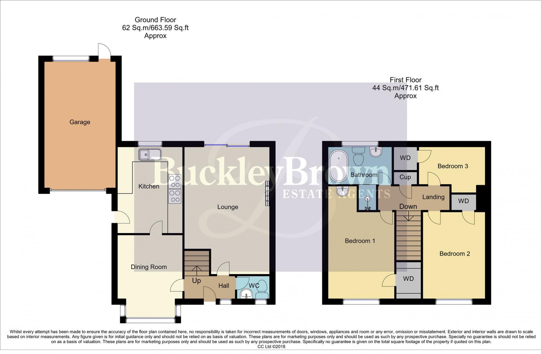 Floorplan for Dunn Brigg, Mansfield Woodhouse, Mansfield
