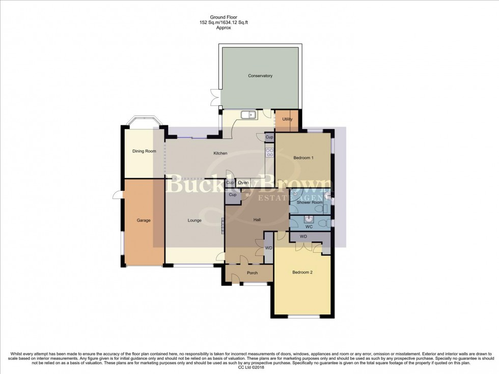 Floorplan for Southpark Avenue, Mansfield