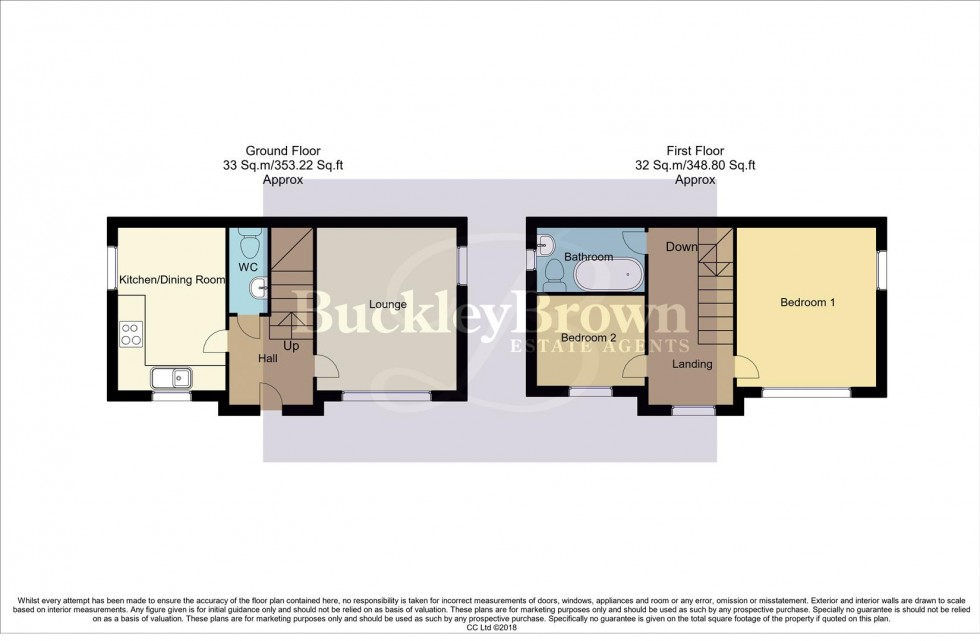 Floorplan for Embankment Close, Shirebrook, Mansfield