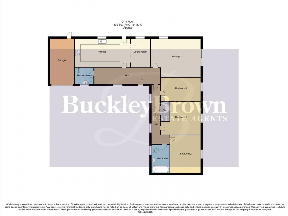 Floorplan for Berry Hill Mews, Mansfield