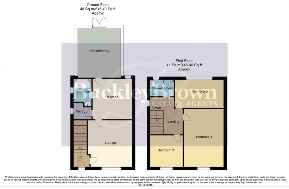 Floorplan for Larch Road, New Ollerton, Newark