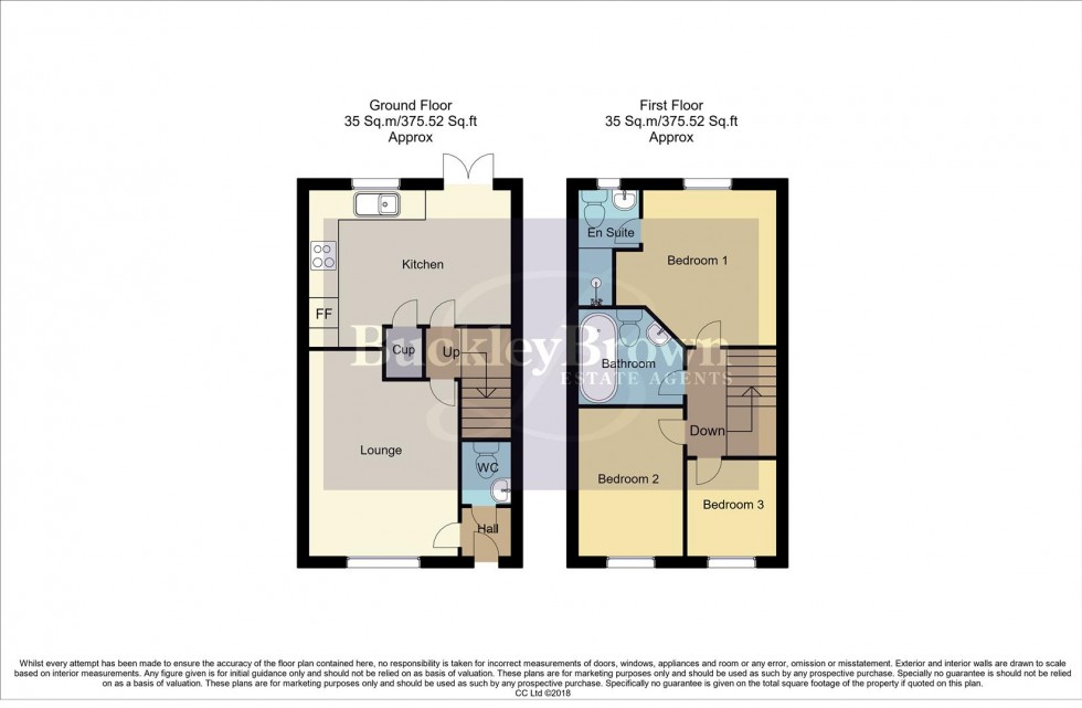 Floorplan for Debdale Way, Mansfield Woodhouse, Mansfield