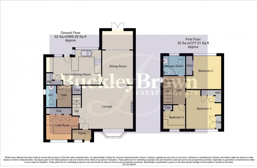 Floorplan for Ley Lane, Mansfield Woodhouse, Mansfield