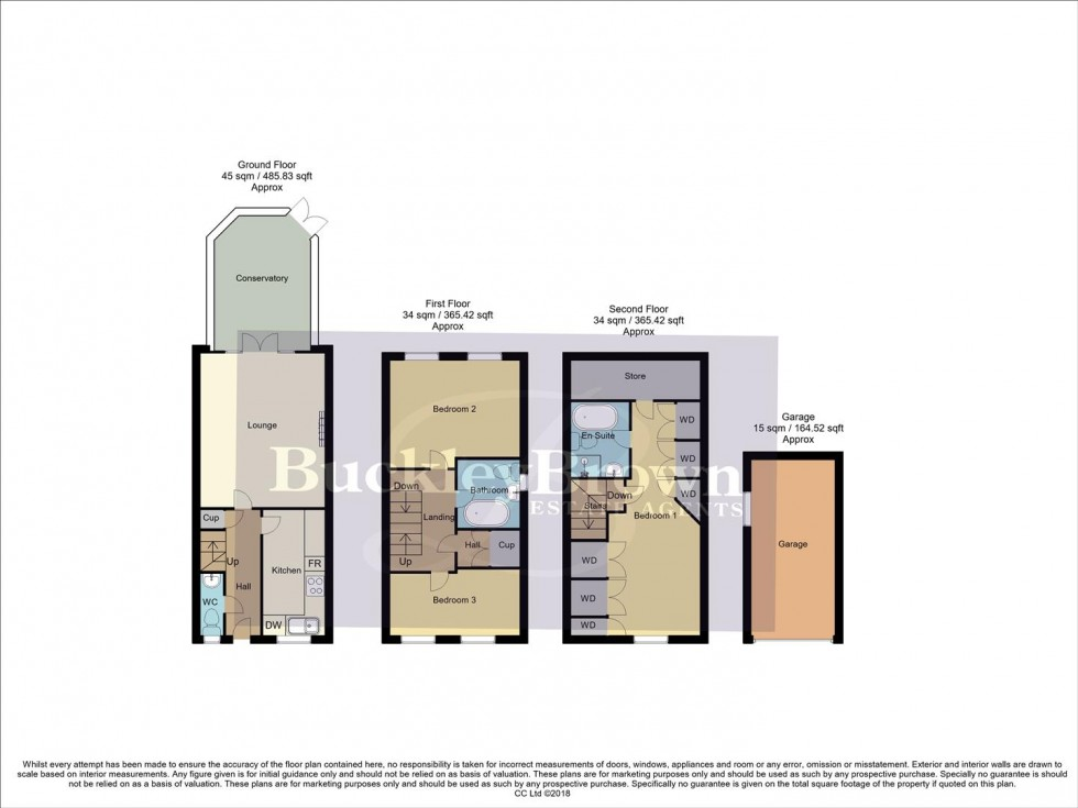 Floorplan for Butlerwood Close, Kirkby-In-Ashfield