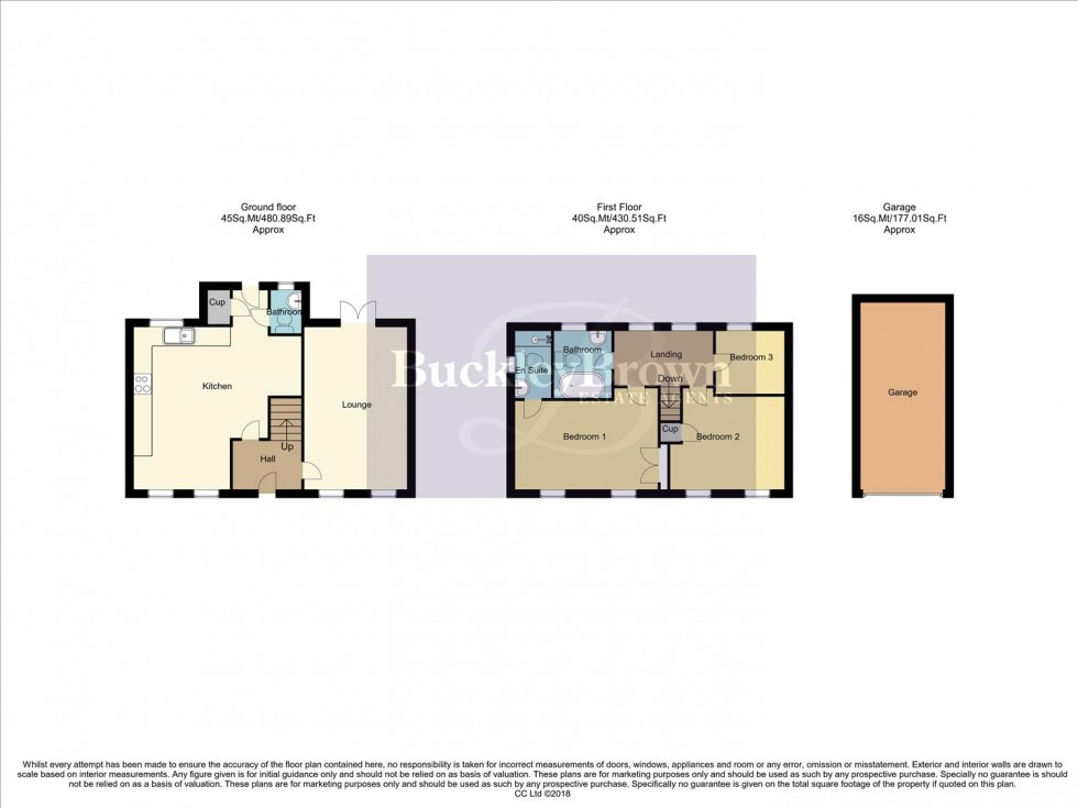 Floorplan for Aylesbury Way, Forest Town, Mansfield
