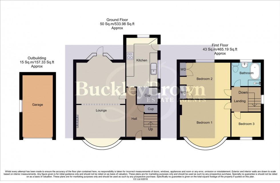Floorplan for Harby Avenue, Sutton-In-Ashfield