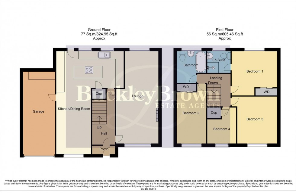 Floorplan for 1, Harthill Drive, Mansfield