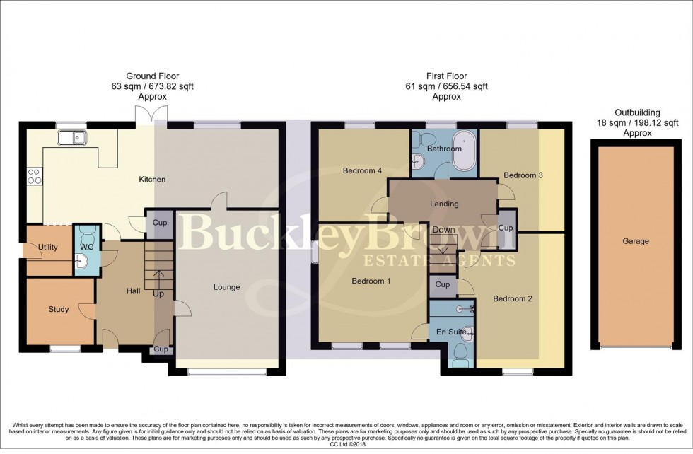 Floorplan for Lindhurst Way West, Mansfield