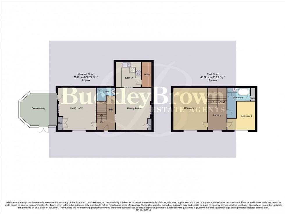 Floorplan for Plaistow Green, Potters hill, Potters Lane,, Wheatcroft, Matlock