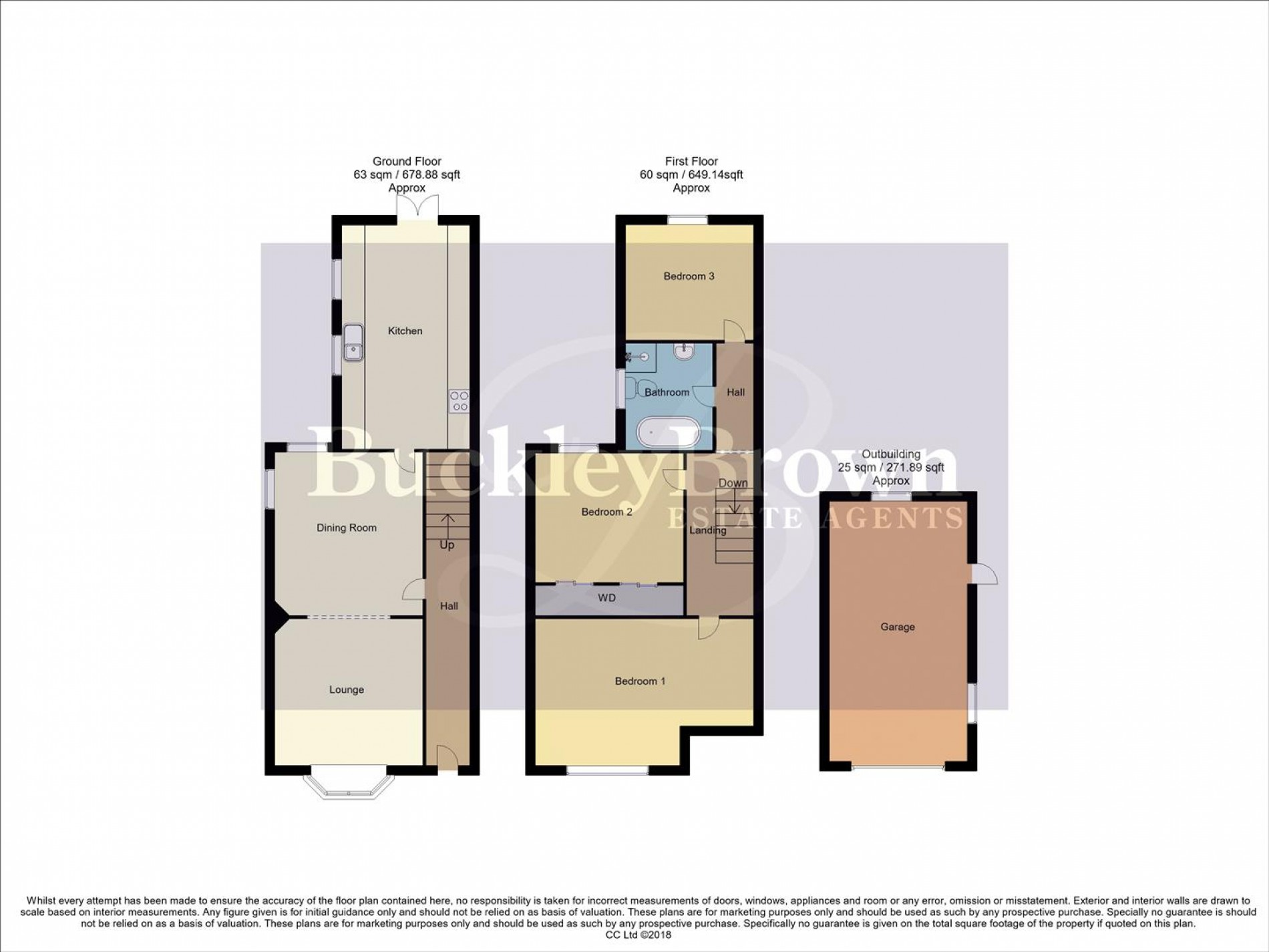 Floorplan for Leeming Lane South, Mansfield Woodhouse, Mansfield