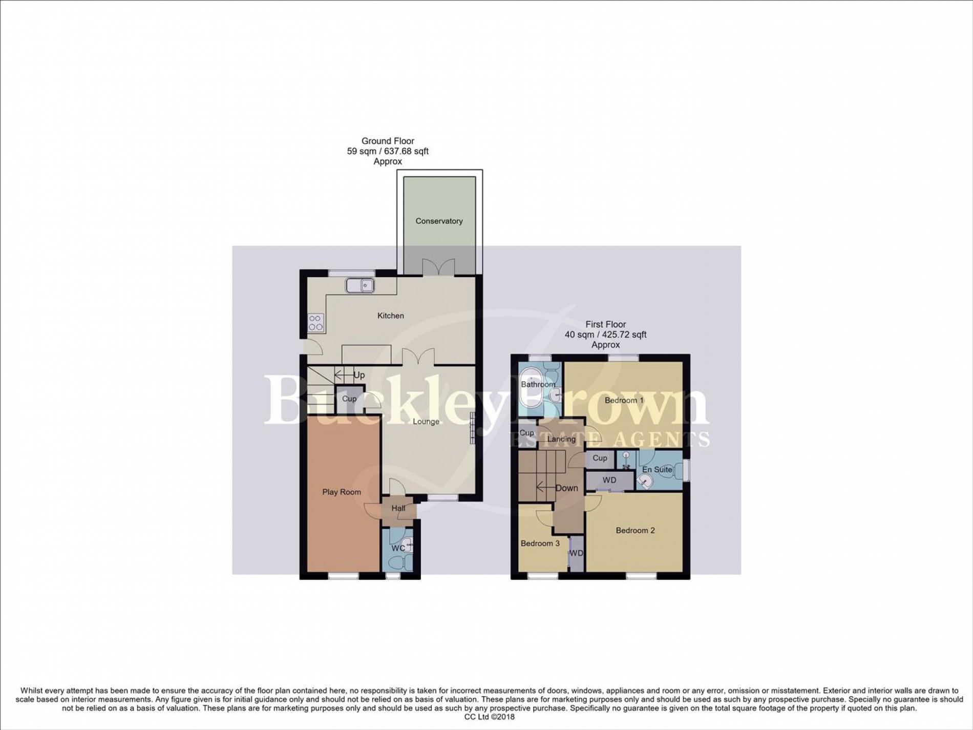 Floorplan for Studland Close, Mansfield Woodhouse, Mansfield
