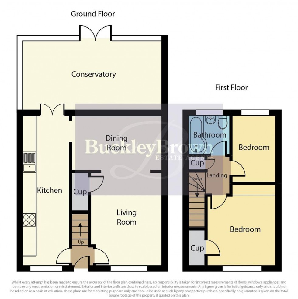 Floorplan for Dunwoody Close, Mansfield