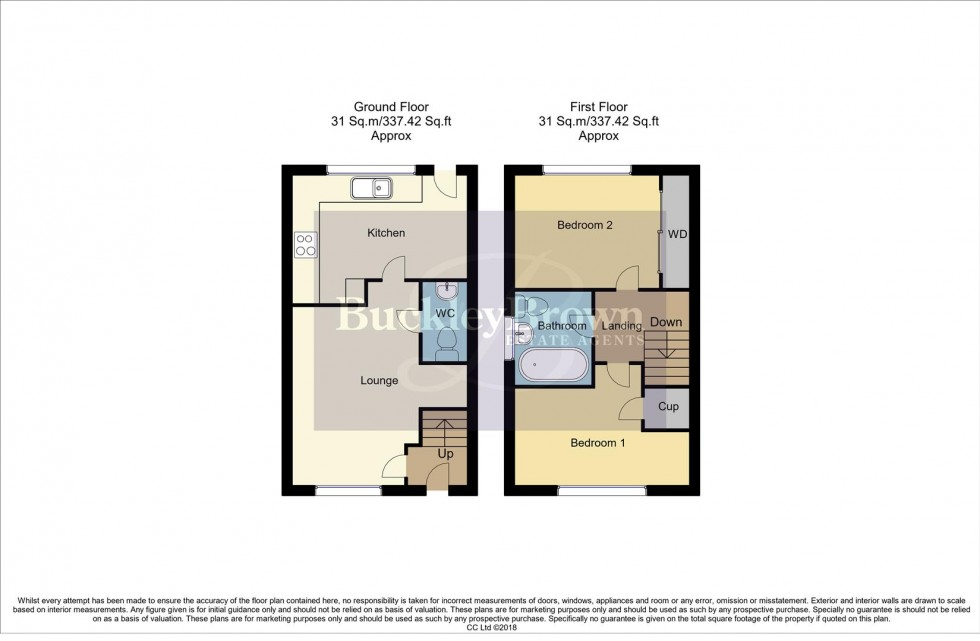 Floorplan for Bank End Close, Mansfield