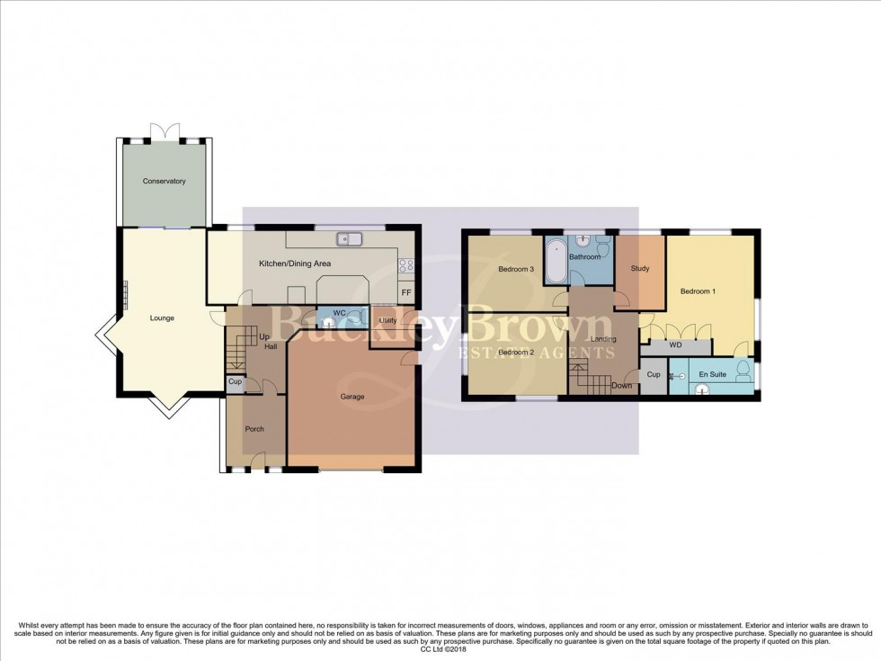 Floorplan for Paddock Close, Edwinstowe, Mansfield