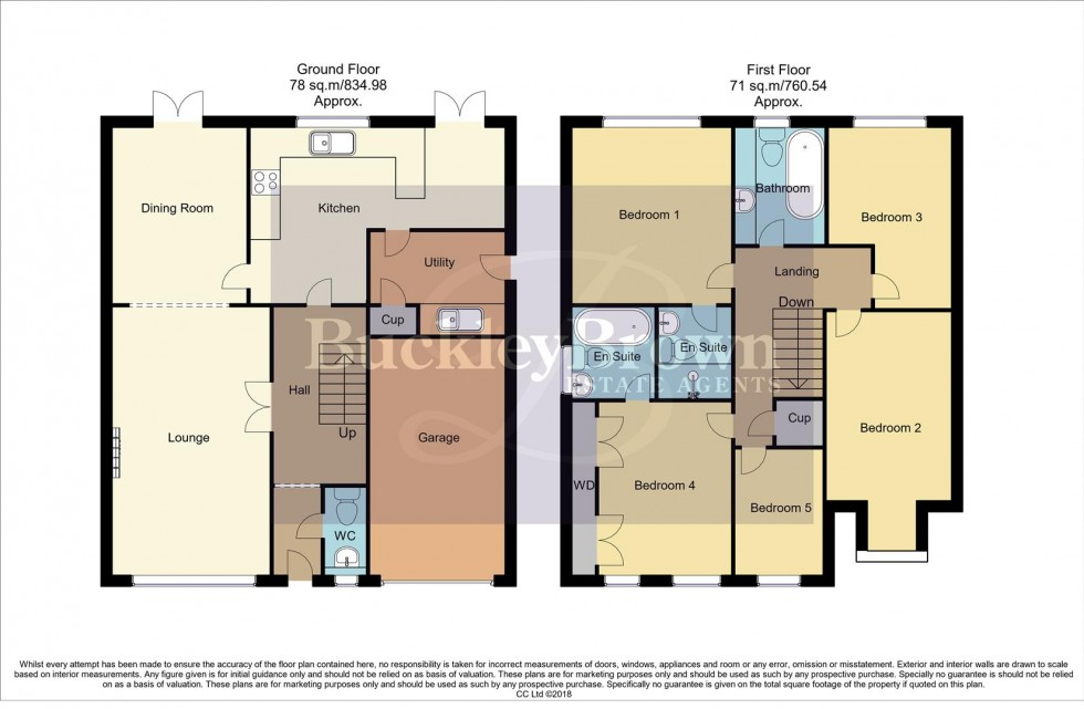 Floorplan for Rockley Close, Clipstone Village, Mansfield