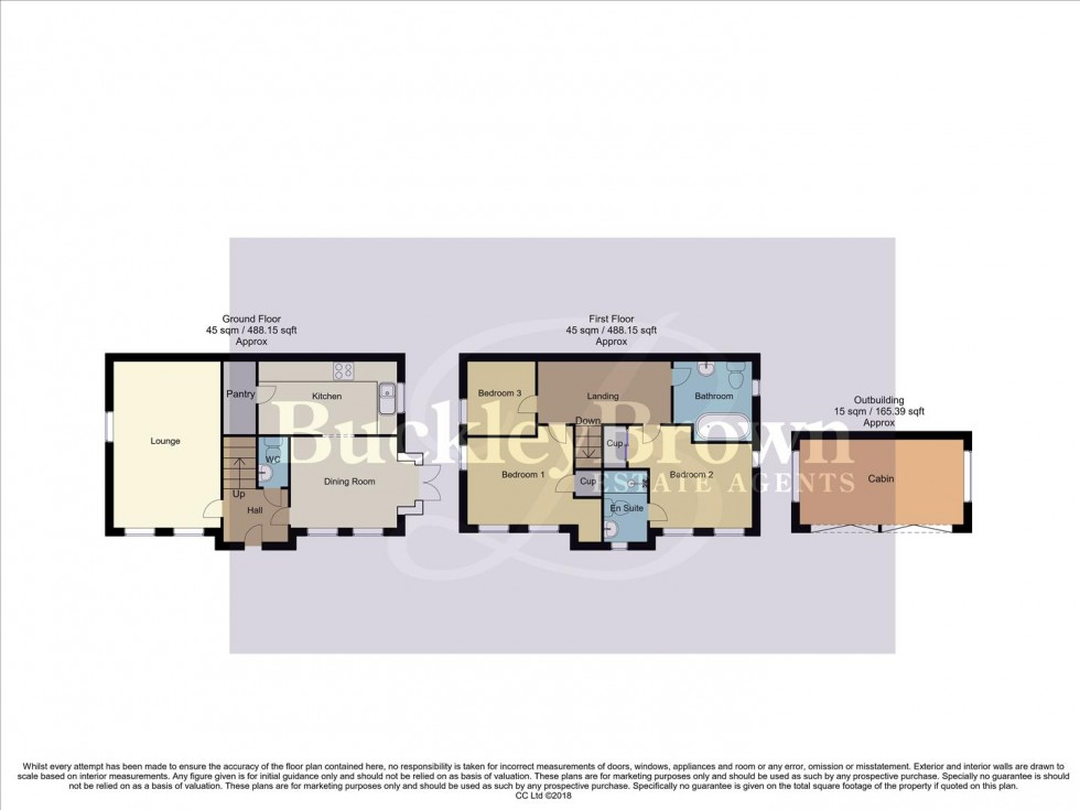 Floorplan for Gressingham Close, Forest Town, Mansfield
