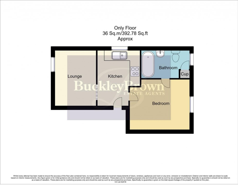 Floorplan for Birkland Street, Mansfield