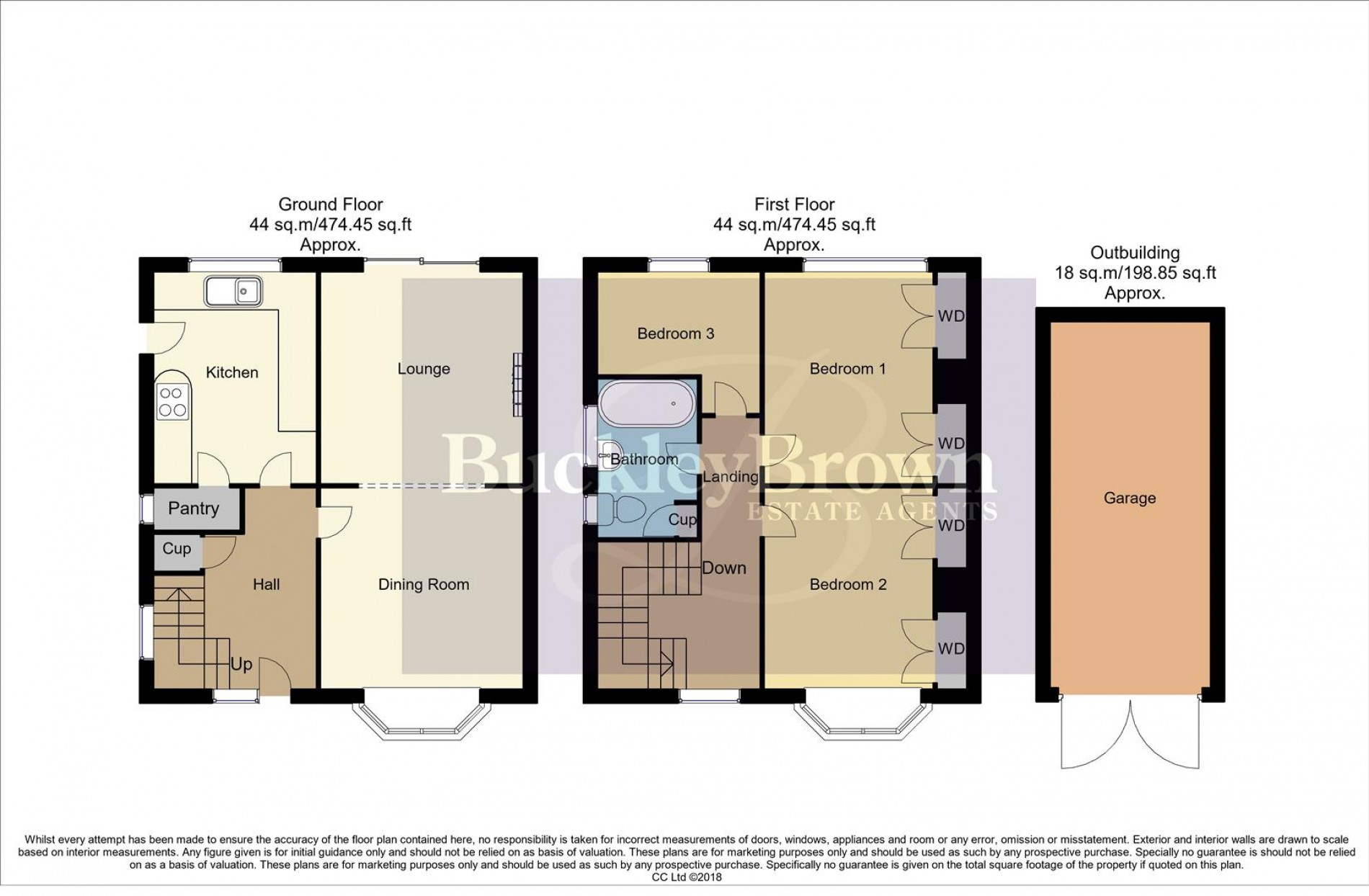 Floorplan for New Mill Lane, Mansfield Woodhouse, Mansfield