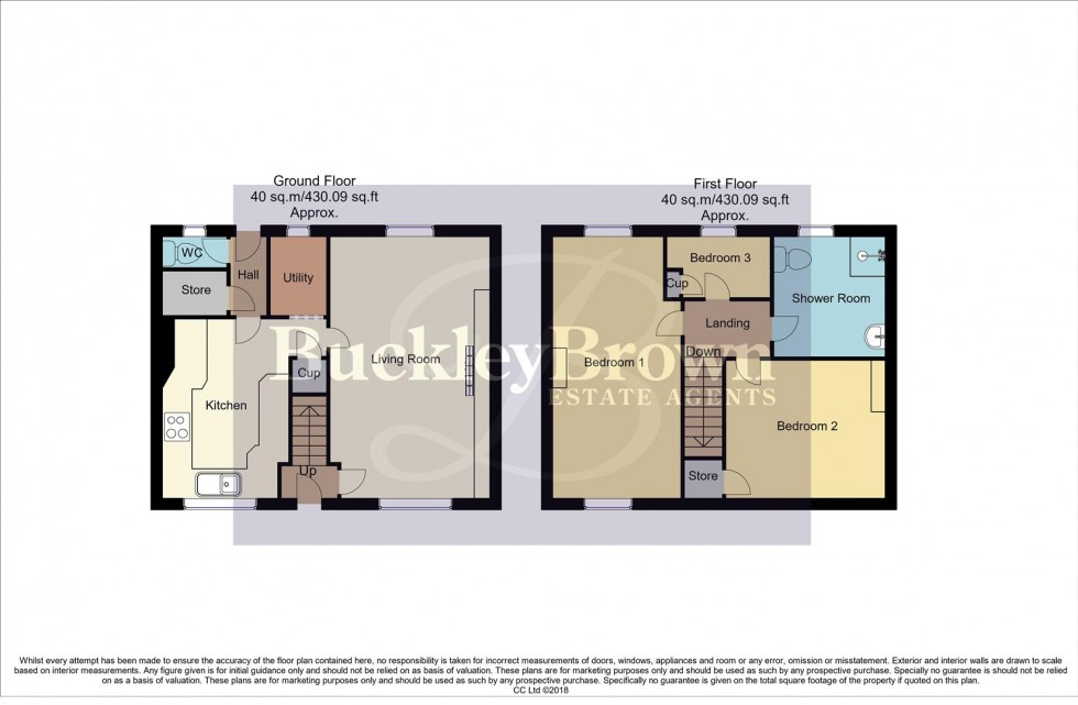 Floorplan for Kirklington Road, Rainworth, Mansfield