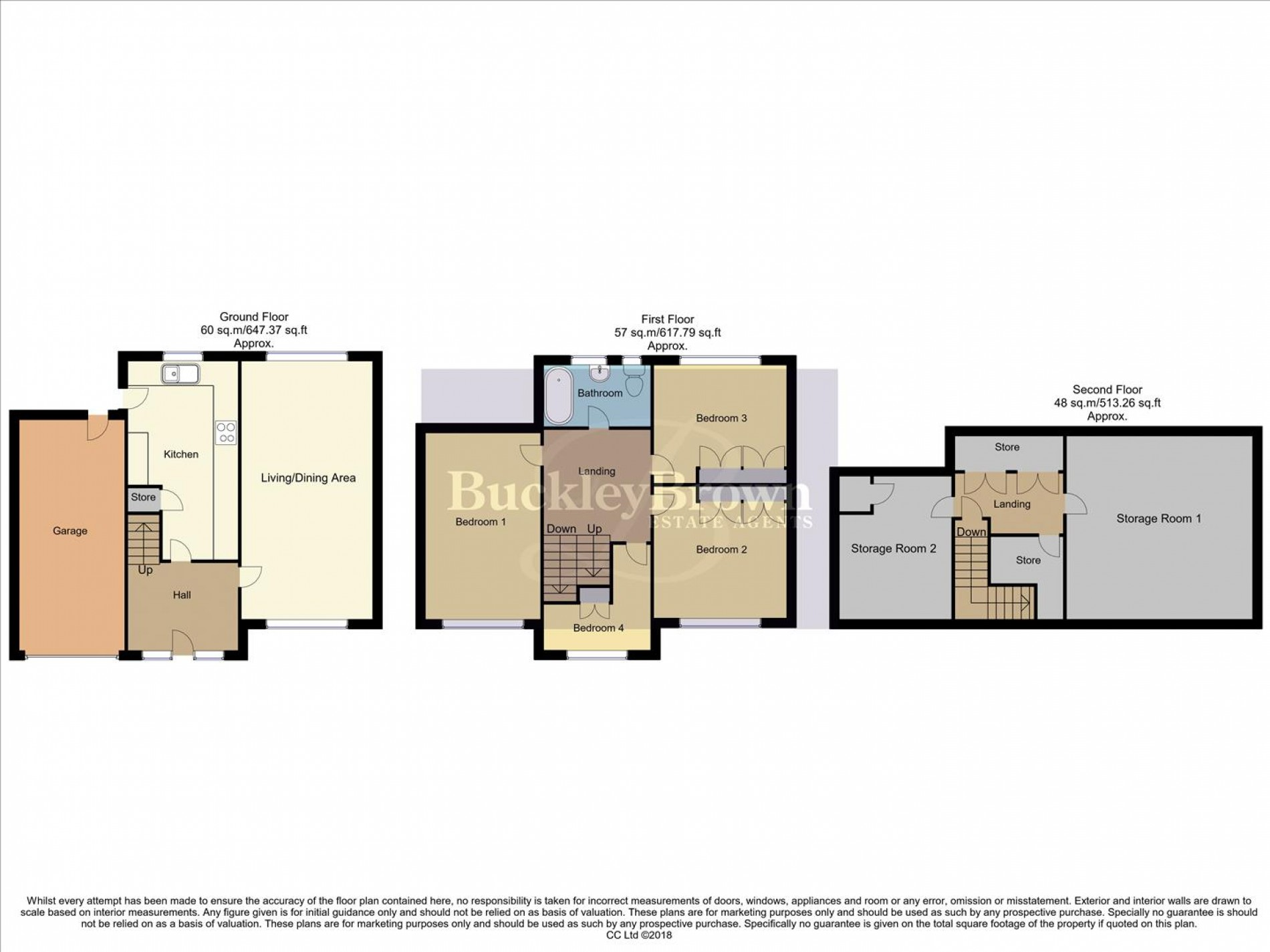 Floorplan for Sherwood Street, Huthwaite, Sutton-In-Ashfield