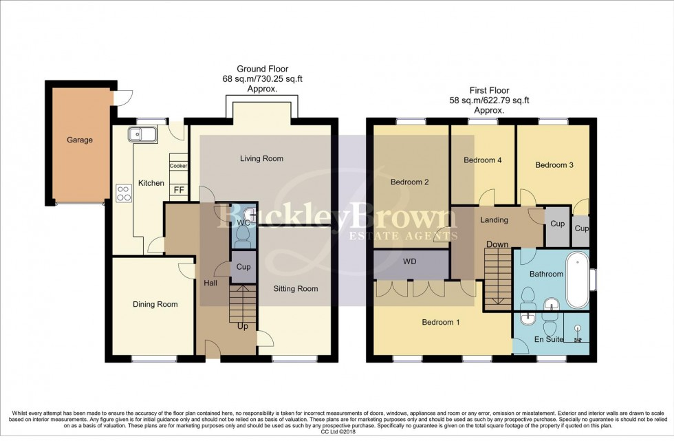 Floorplan for Cairngorm Drive, Mansfield