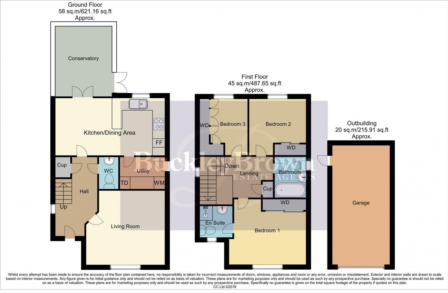 Floorplan for Skylark Way, Clipstone Village, Mansfield