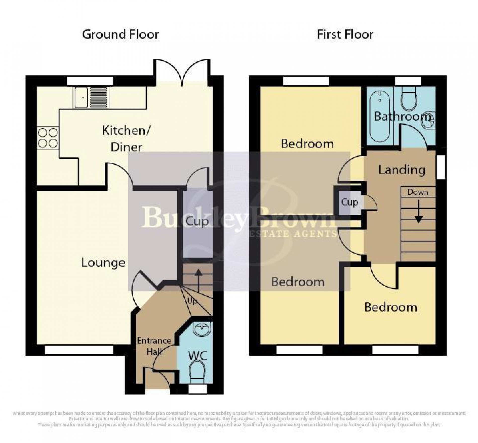 Floorplan for Digby Court, Mansfield Woodhouse, Mansfield