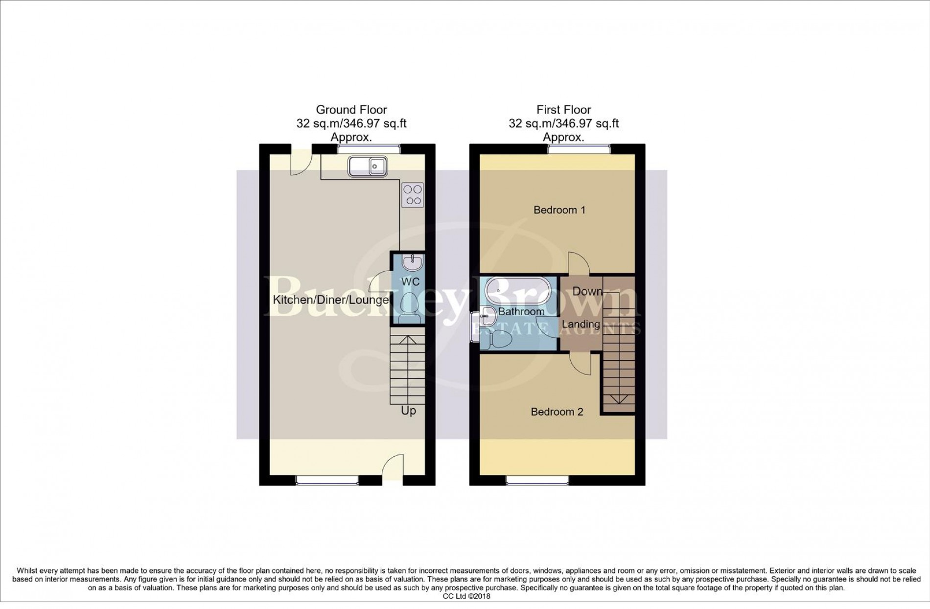 Floorplan for Nottingham Road, Kirkby-In-Ashfield, Nottingham