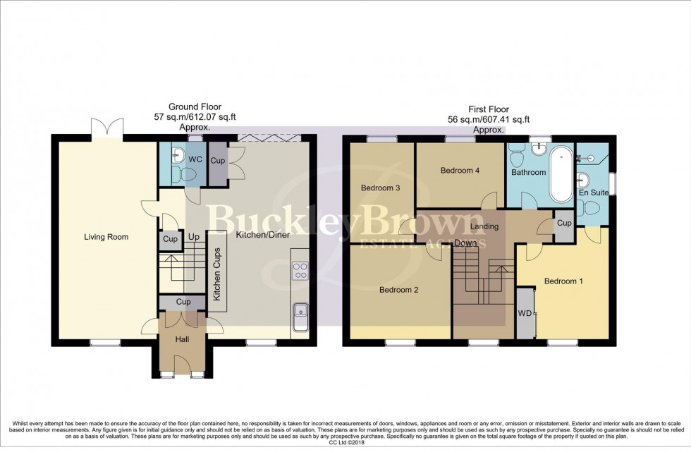 Floorplan for Florin Way, Mansfield