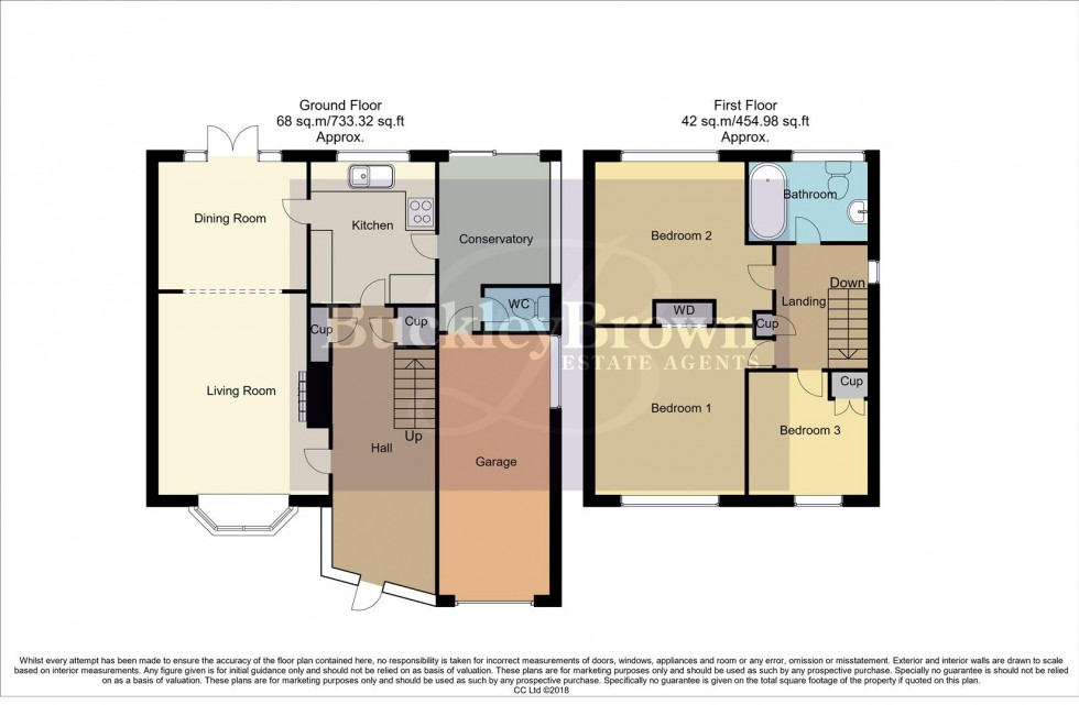 Floorplan for Derwent Avenue, Mansfield