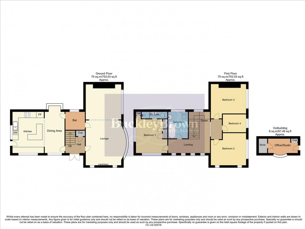 Floorplan for Main Street, Gunthorpe, Nottingham