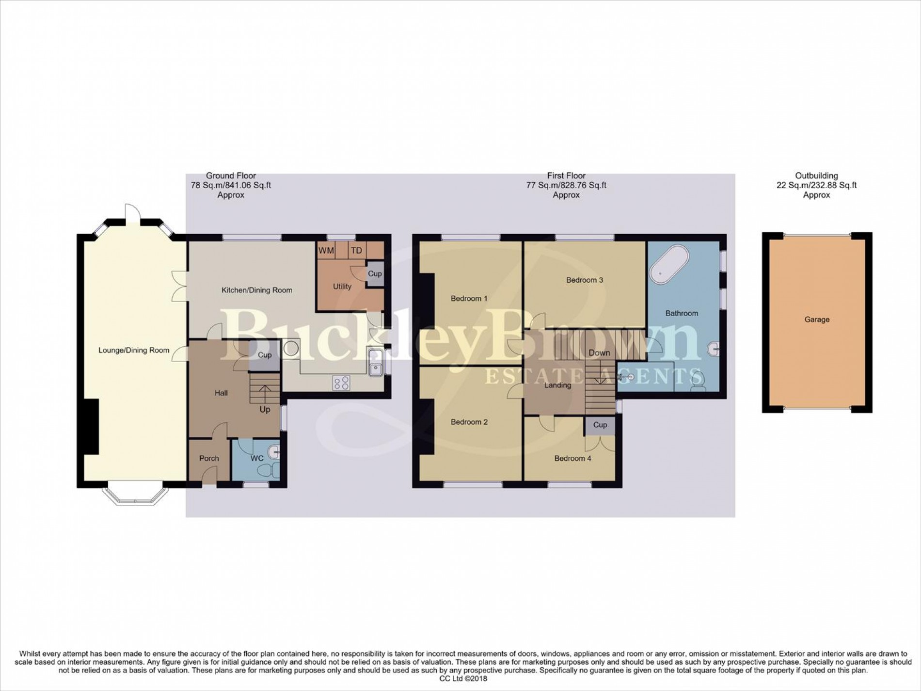 Floorplan for Layton Avenue, Mansfield