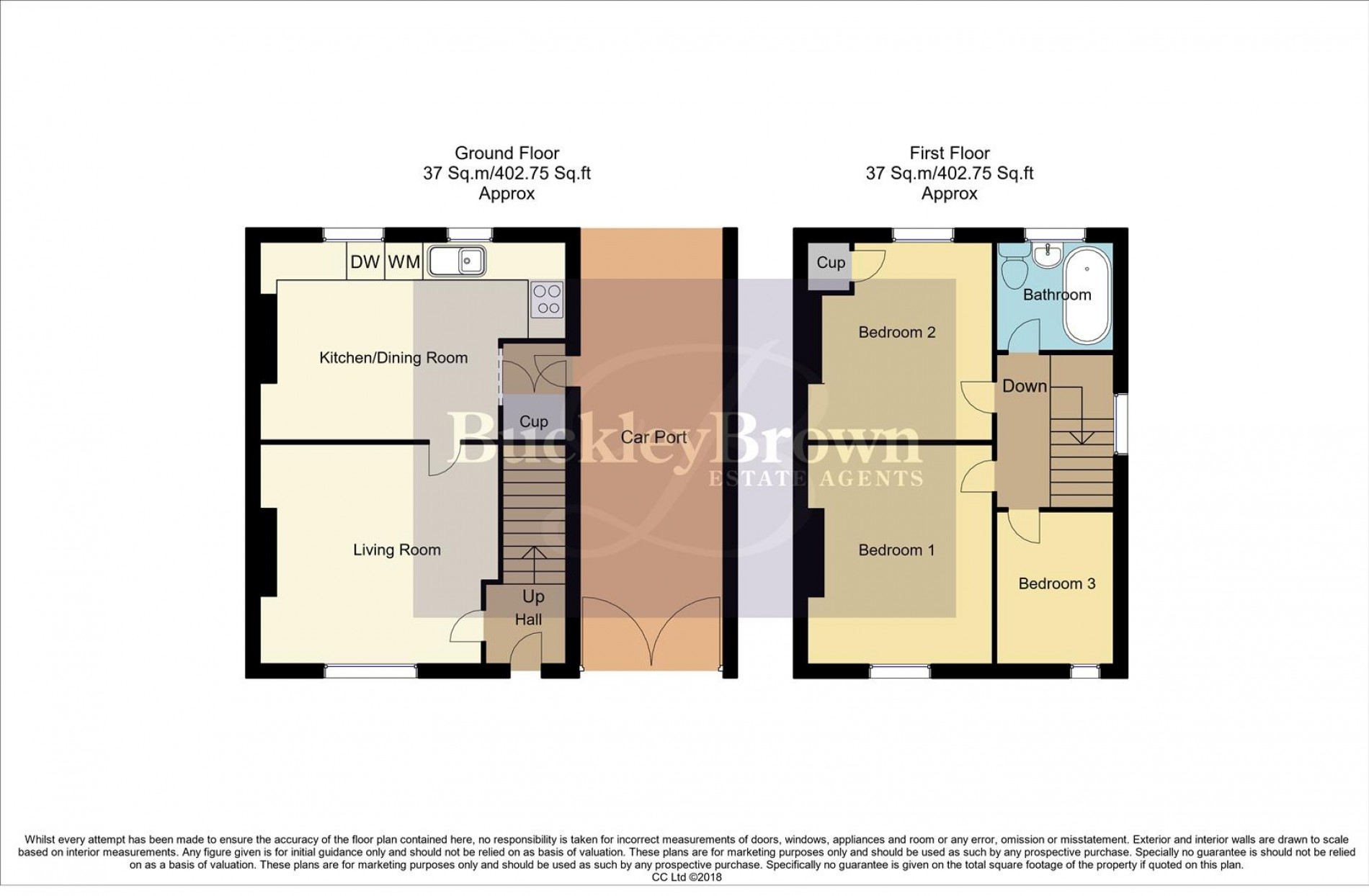 Floorplan for The Crescent, Sutton-In-Ashfield