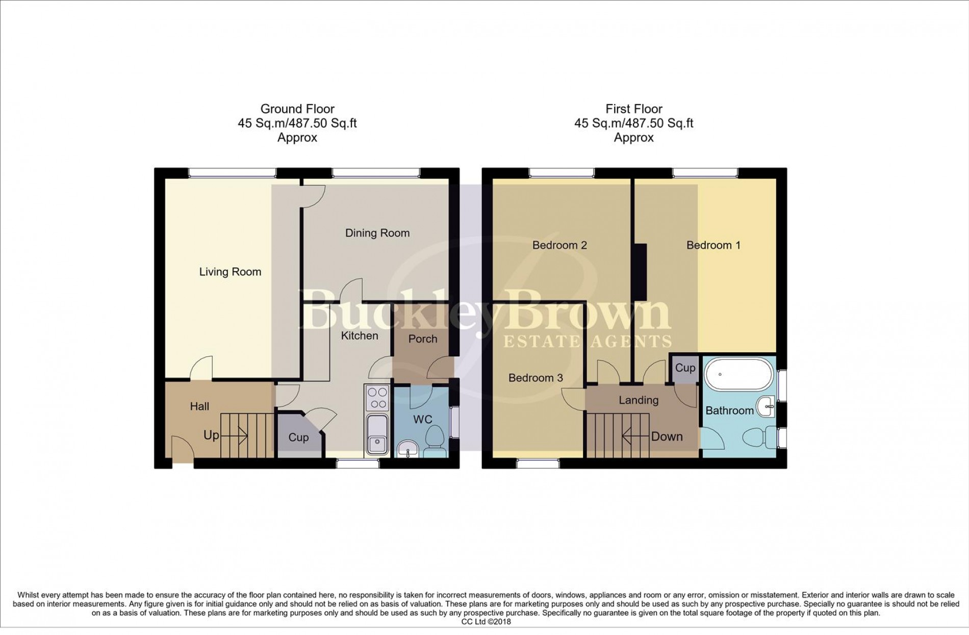 Floorplan for Sowter Avenue, Sutton-In-Ashfield