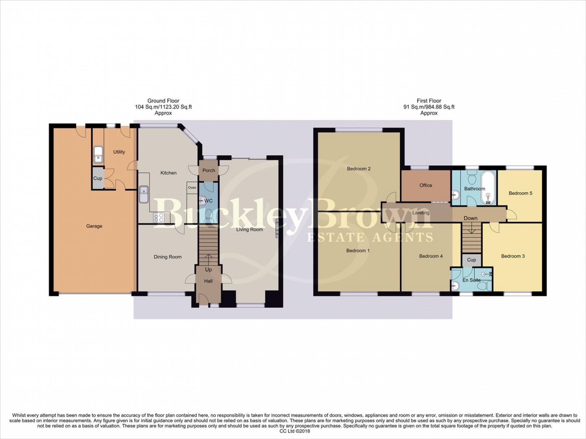 Floorplan for Kensington Close, Mansfield Woodhouse, Mansfield