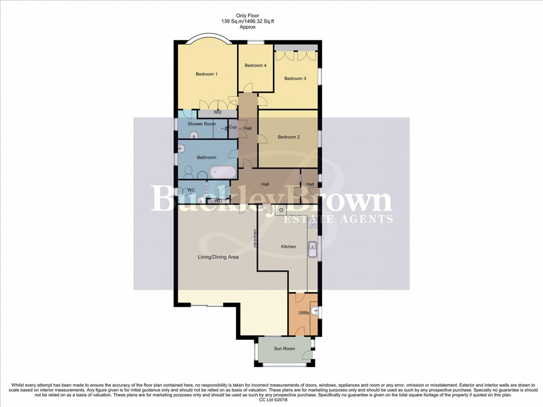 Floorplan for Lime Grove, Forest Town, Mansfield