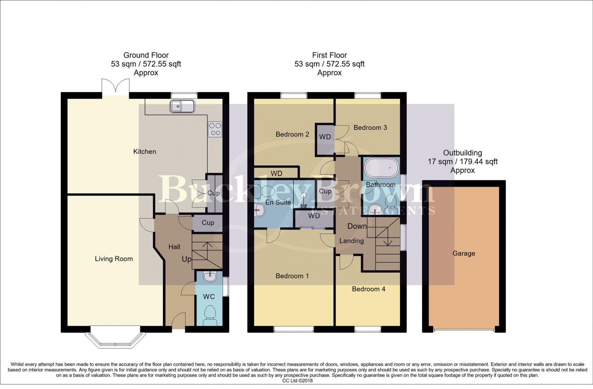 Floorplan for Trafalgar Way, Mansfield Woodhouse, Mansfield
