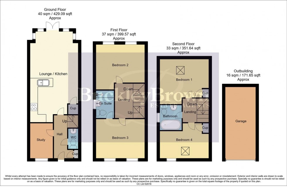 Floorplan for Sanderling Way, Forest Town, Mansfield