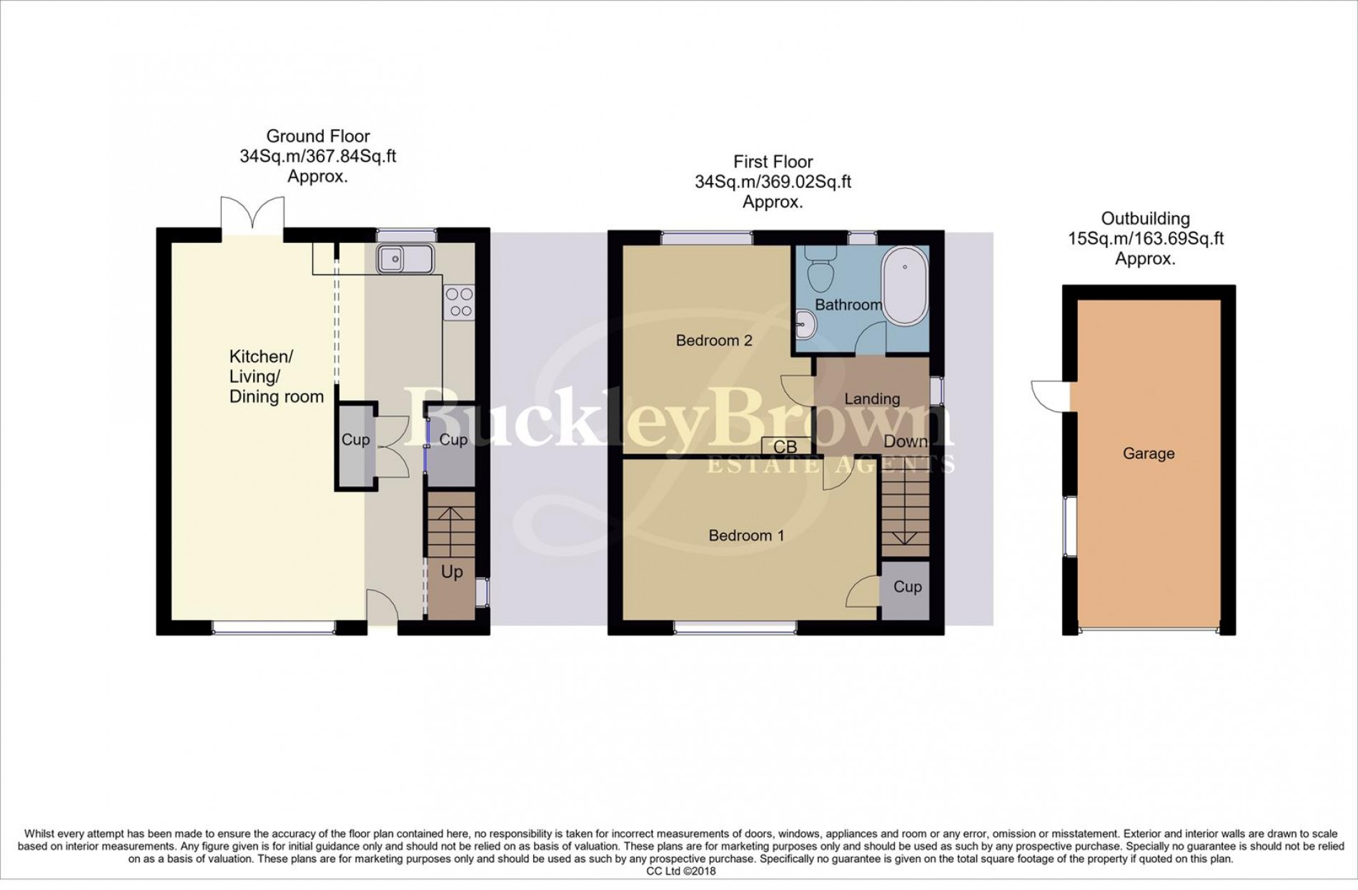 Floorplan for Newlands Drive, Forest Town, Mansfield